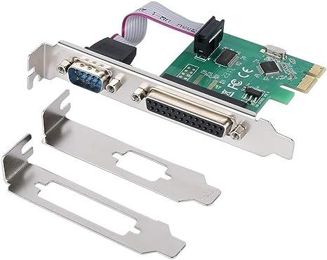 3x Low Profile Bracket for Parallel Port DB25 LPT Printer PCI-E Card