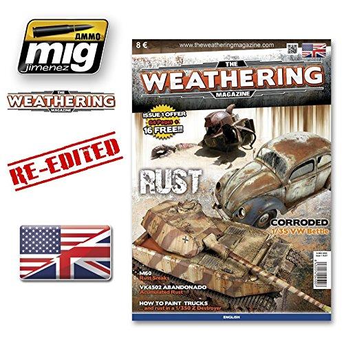 Mig Jimenez Weathering Magazine Issue 1 Rust - English Re-Edition #AMIG4500