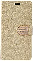 HR Wireless Cell Phone Case for LG G Stylo LS770 - Retail Packaging - Gold
