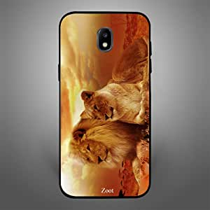 Samsung Galaxy J4 King Queen of Jungle, Zoot Designer Phone Covers