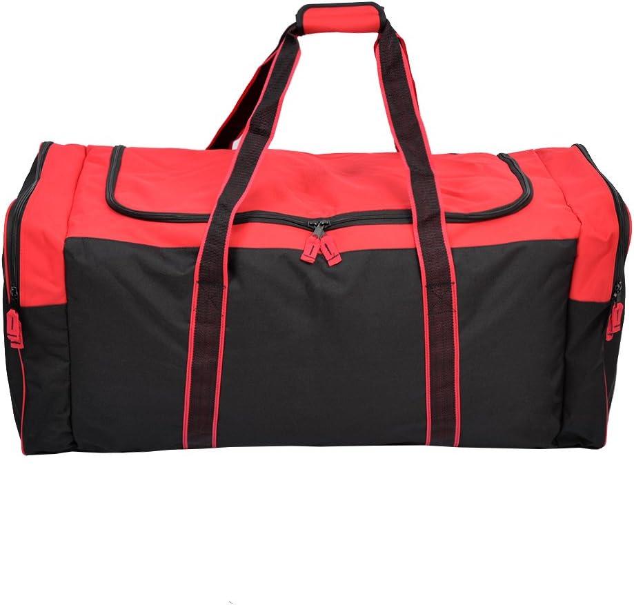 | Jetstream 36 Inch 3-Pocket Hockey Equipment Duffle Bag (Blue) | Sports Duffels