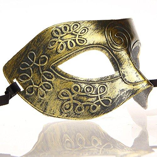 Hagora, Unisex 12 pcs Fine Multicolored Antique Design Masquerade Masks by Hagora (Image #8)
