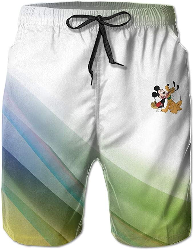 AiguanMen Short Beach Pant Friendly Pants