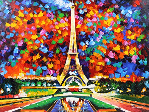 Paris of my Dreams is a ONE-OF-A-KIND, ORIGINAL OIL PAINTING