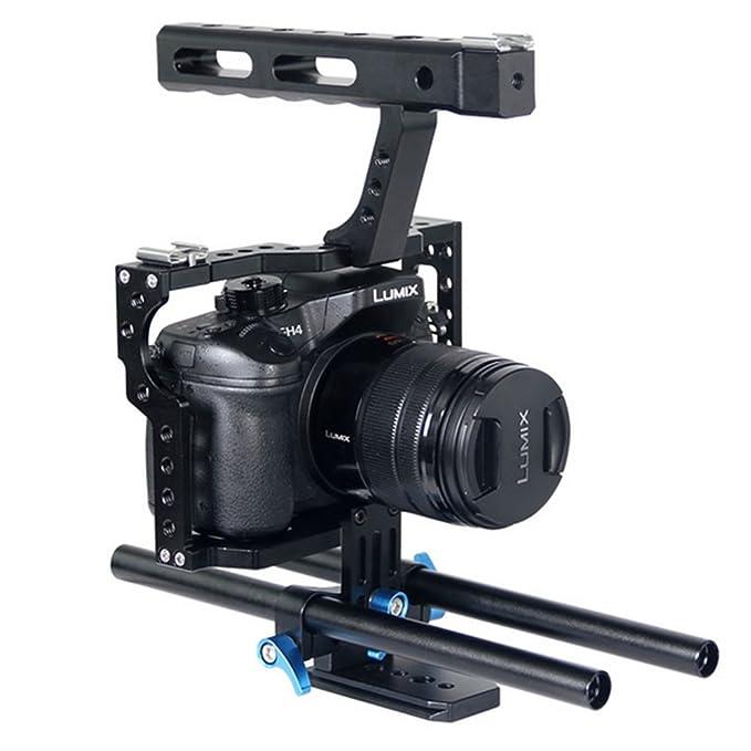 Fomito Mango de Aluminio Grip estabilizador de vídeo DSLR cámara ...