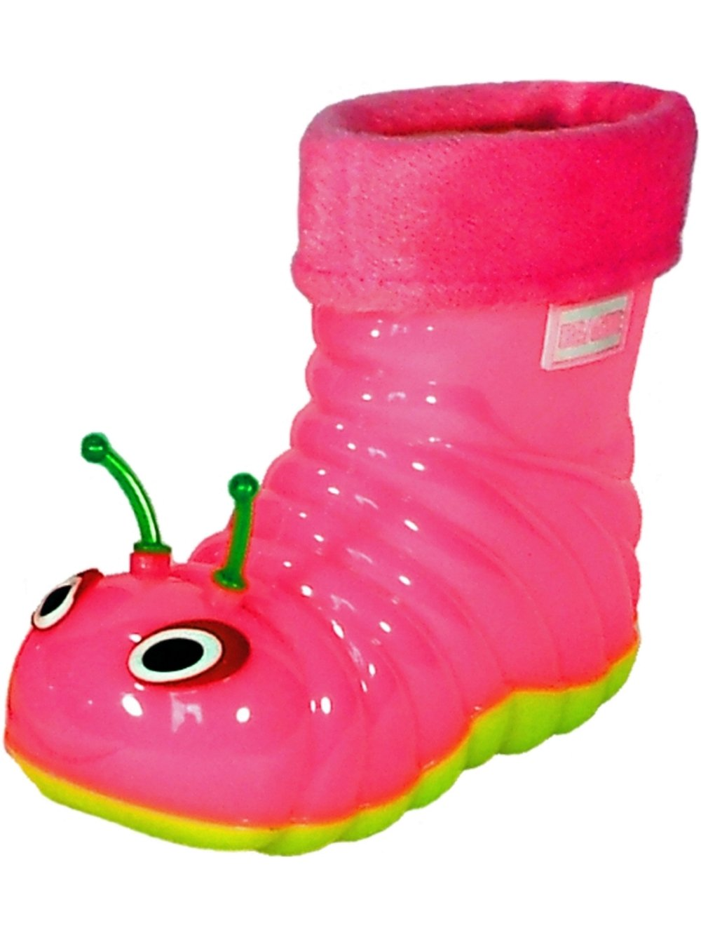 Children's Waterproof Rain Boots Cartoon Animals Toddler/Little Kid (26 (8 M US Toddler), Pink)
