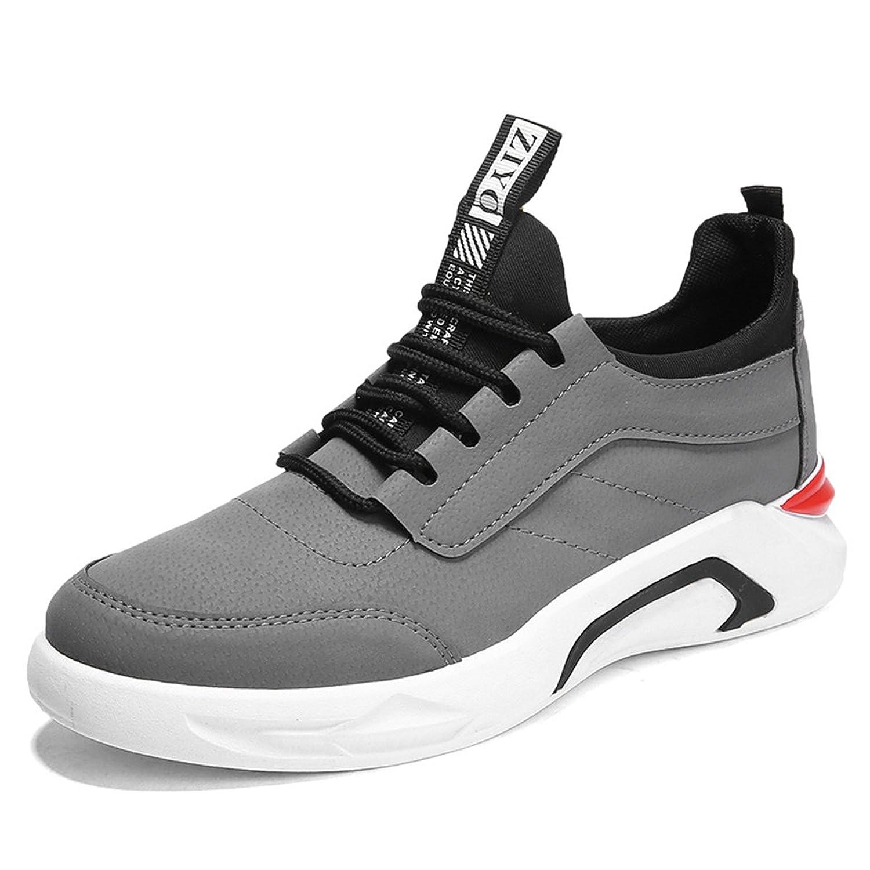 Homme Chaussure de Course Jogging Running Sneaker Basket Mode Chaussure de Sport Outdoor Loisir Endurance Gris 40 yslWir5