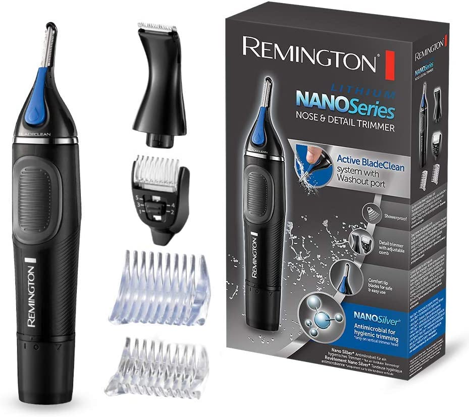 Remington Nano Lithium Series NE3870 Cortapelos Nariz, Orejas ...