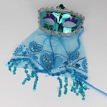Máscaras venecianas máscara de Navidad para Halloween, disfraz de bola para fiesta, suministros de