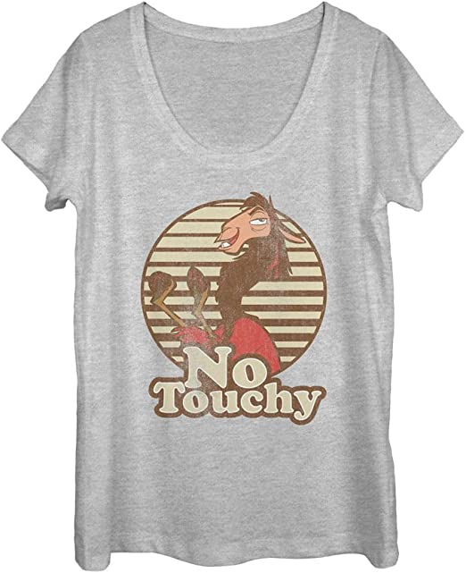 Disney Emperor/'s New Groove Kuzco Llama No Touchy T-Shirt
