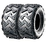 Set Pair of 2 SunF ATV UTV Tires 21x7-10 21x7x10 4PR A001