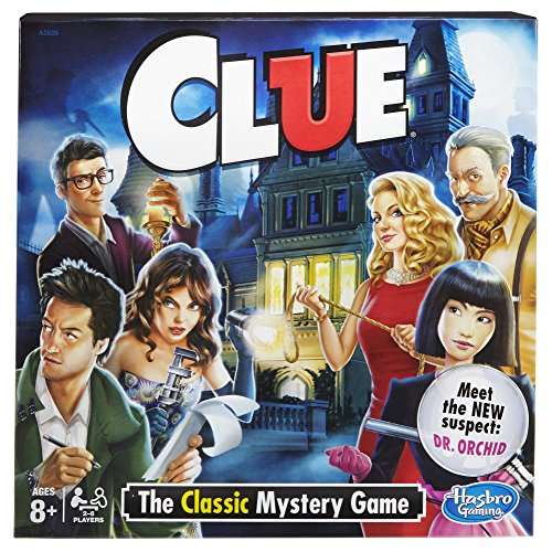 Hasbro A5826079 Clue Game, Multicolor
