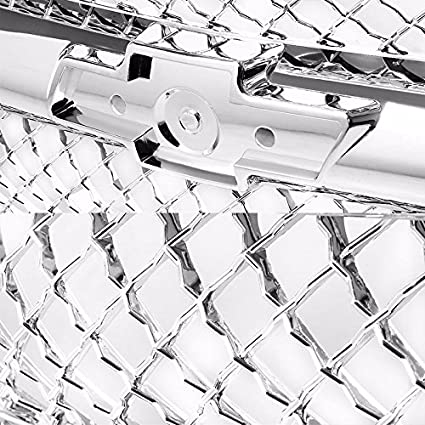 amazon silver abs bumper mesh replacement front grille for 1992 F150 Headlights amazon silver abs bumper mesh replacement front grille for chevy 94 00 c k series 94 blazer 88 r20 89 r2500 r30 88 v30 for models with posite