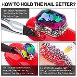 Nail Art 8ml Rhinestone Glue Gel Adhesive/2pcs