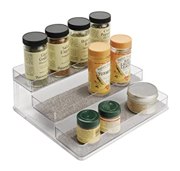 mDesign Gewürzregal für Küchenschrank – praktische ...
