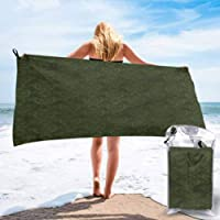 Quick Dry Beach Towel,Vintage French FLA,Microfiber-Sand Free-Lightweight Thin Bath Towels-27.5x55