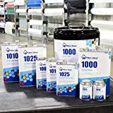 Fibre Glast System 1000 Epoxy Resin - Standard Part Kit - 1 Quart - Tough Epoxy for Quick Repairs and Fabrication