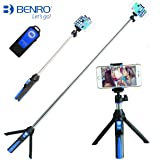 premium hd selfie stick tripod 3 in 1 photo video kit for n. Black Bedroom Furniture Sets. Home Design Ideas