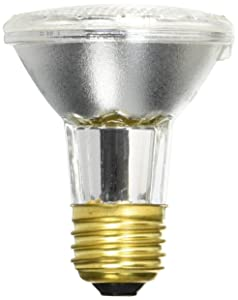 GE Lighting 69163 38-watt 490-Lumen Energy-Efficient Halogen Floodlight Bulb with Medium Base (6 Pack)
