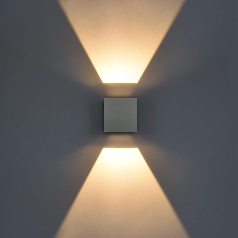 LED Aussenwandleuchte Design Aussenwandlampe Wandlampe Aussenlampe Verstellbar