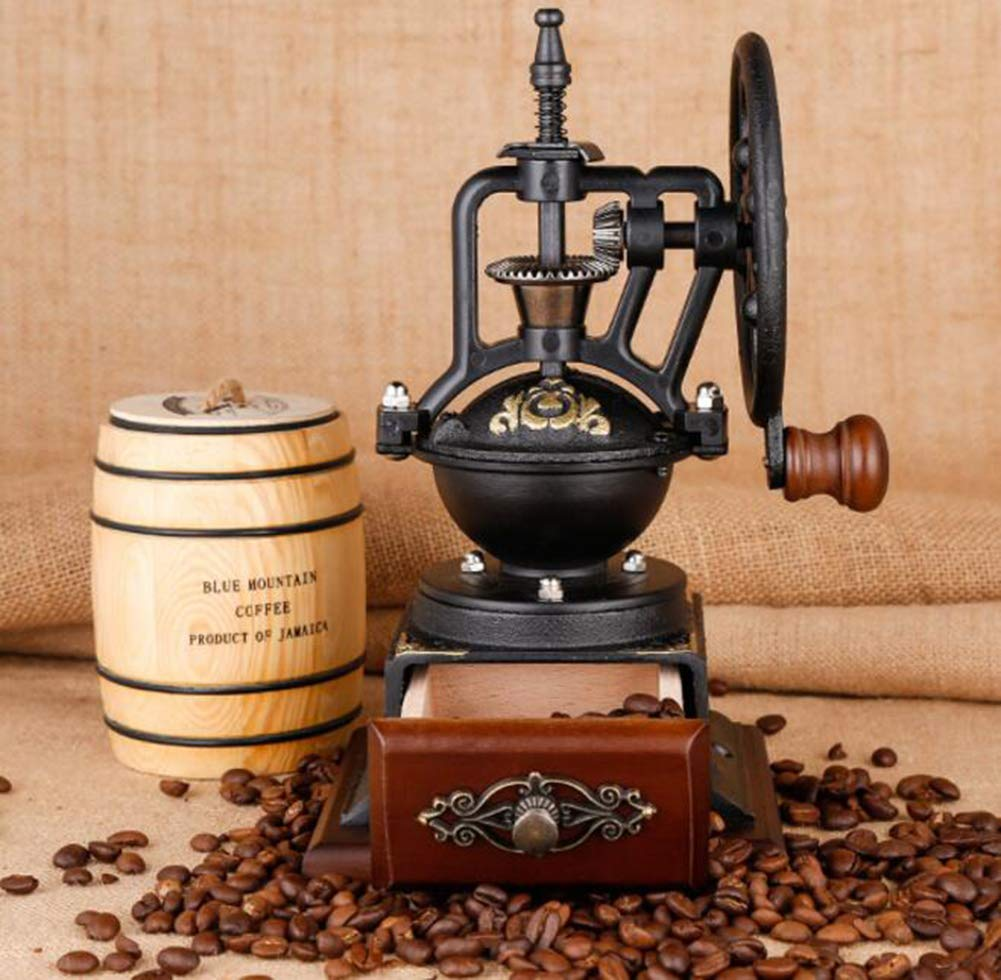 PsgWXL Hand-cranked Grinder Coffee Home Manual Coffee Machine Small Coffee Bean Grinder Grinder by PsgWXL (Image #2)