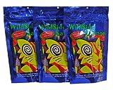 WildSide Salmon - Wild Alaskan Salmon Freeze Dried Cat Treats - Healthy and Organic Cat Food - 3 Ounces (3 Pack)