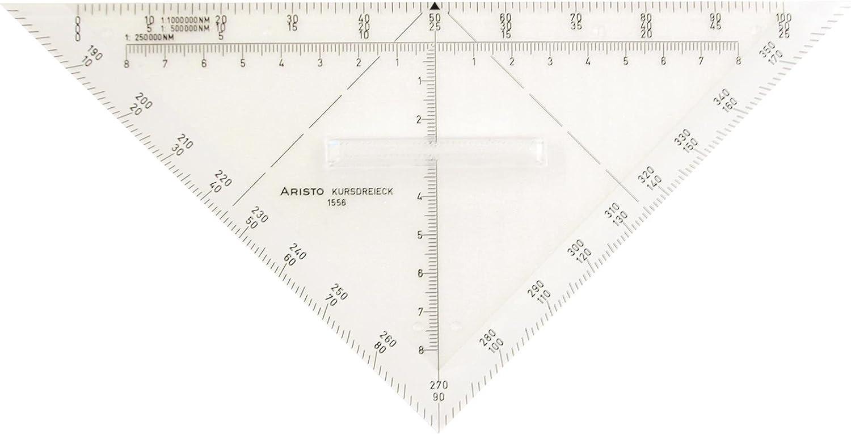 Aristo Squadra nautica in Plexiglas 22,5 mm trasparente