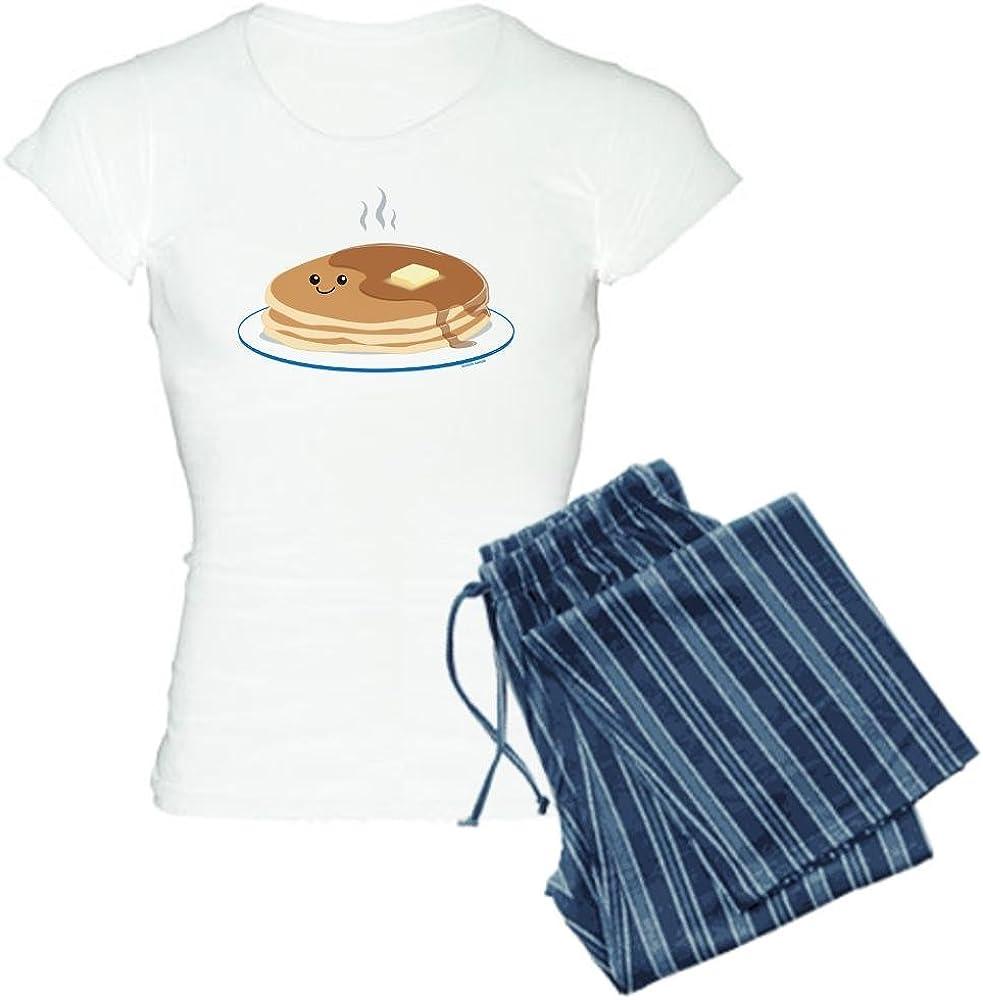 CafePress Breakfast Time Womens Light Pajamas Womens PJs