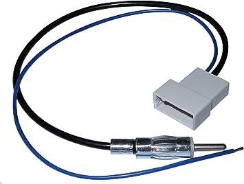 AERZETIX: Adaptador DIN de Antena autoradio para Coche, vehículos C10008