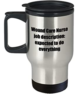 Wound Care Nurse Travel Mug