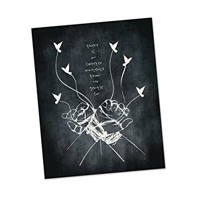 Take Me To Church | Hozier inspired lyric art print