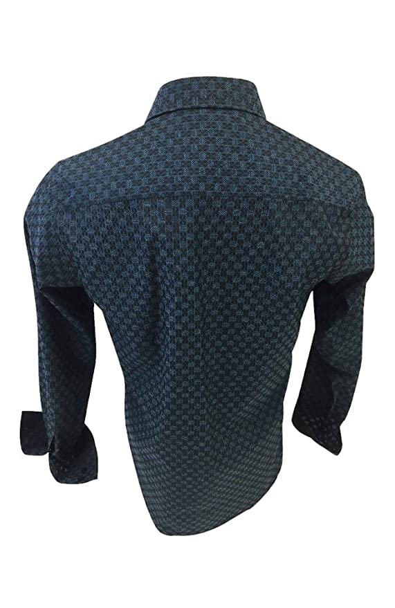 DTI GV Executive Mens Dress Shirt Pure Cotton Spread Collar Barrel Cuff