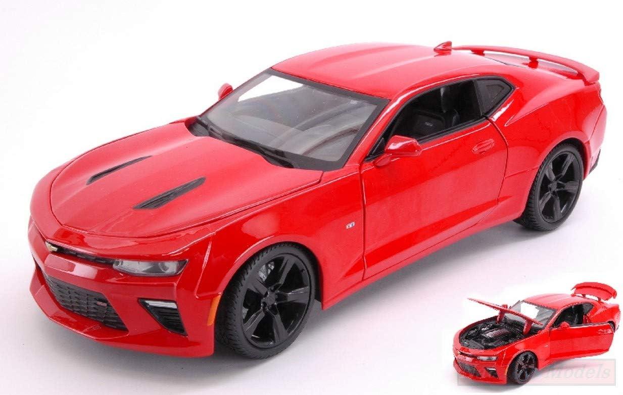 NEW MAISTO MI31689R Chevrolet Camaro SS 2016 Red 1:18 MODELLINO Die Cast Model