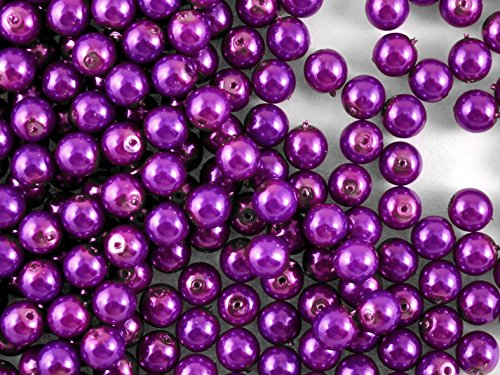 50pcs-czech-glass-pearl-beads-estrela-round-6-mm-pastel-purple