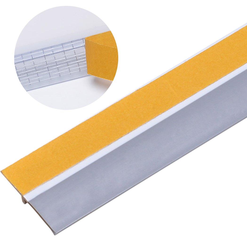 Outgeek Door Seal, Door Weather Stripping 3.3ft Self Adhesive Wind Dust Water Proof Door Sweep Door Bottom Seal NXMV7K9JX4ZE4091250EGG