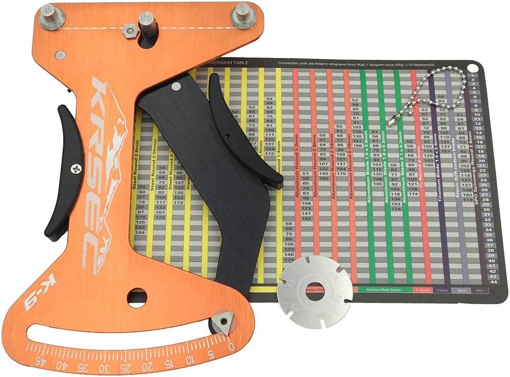 Bicycle Spoke Tension Meter Measurement Adjustment Tool