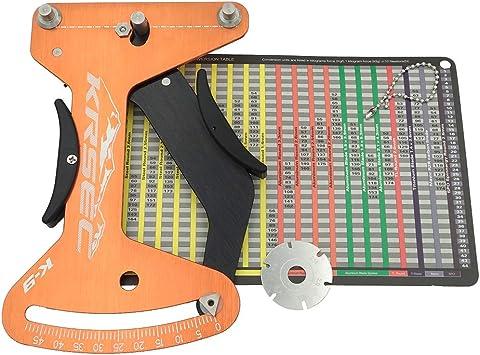 1x Bicycle Spoke Tension Meter Wheel Spokes Checker Tension Meter Measurement