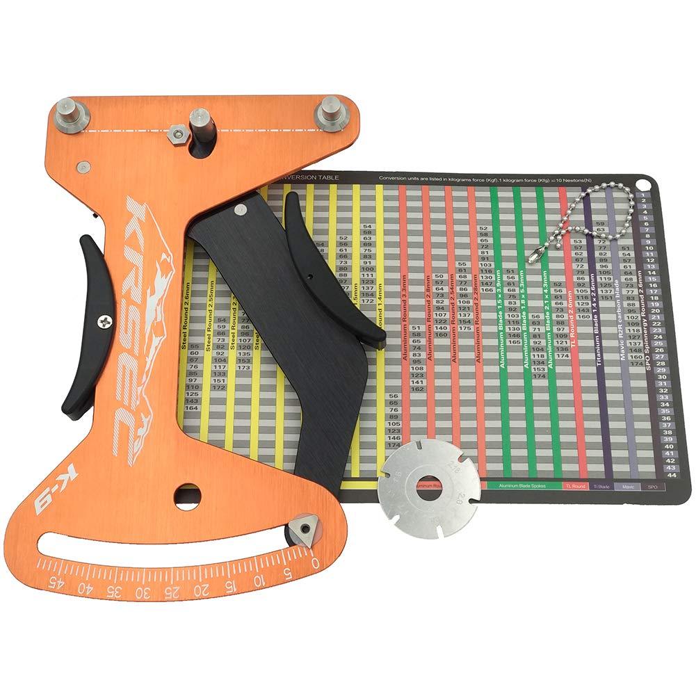 Krsec Bicycle Spoke Tension Meter Measurement Adjustment Tool by Krsec