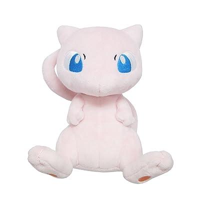 """Sanei Pokemon All Star Series PP20 Mew Stuffed Plush, 6.5"""": Toys & Games"""