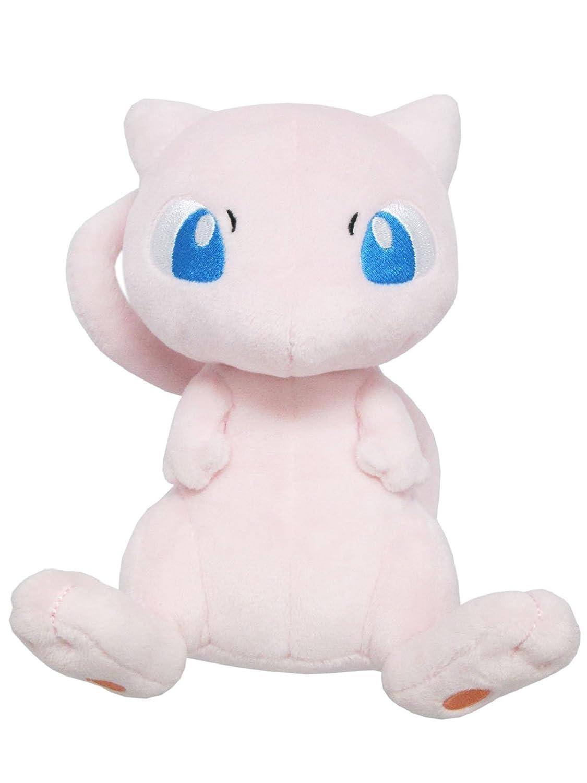 Sanei Pokemon All Star Series PP20 Mew Stuffed Plush, 6.5'