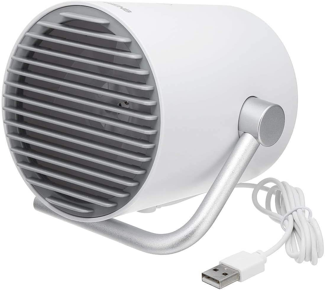 Shengjuanfeng USB Fans Portable USB Desk Fan Mini Rechargeable Cooling Fans Quiet 2 Speed Mode for Home Office Outdoor for Home Color : USB Black Fan Outdoor Travel Office