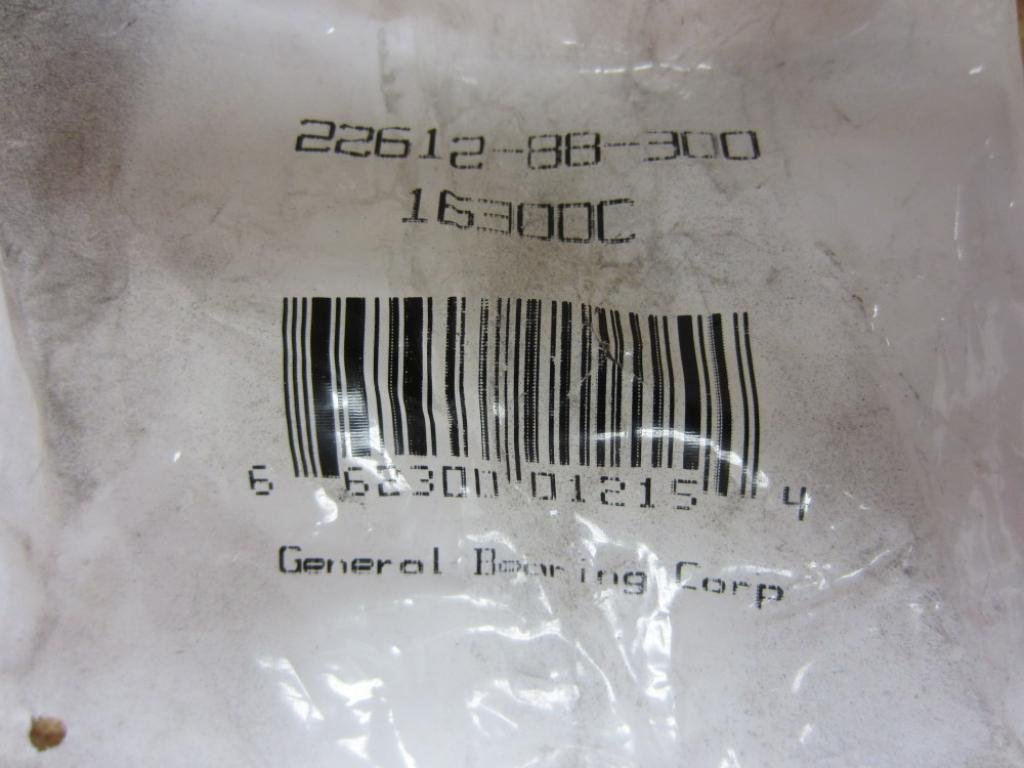 NEW GENERAL BALL BEARING 22612-88-300 16300C NEW