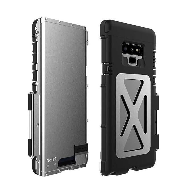 super popular 9dca4 1a06d Amazon.com: Galaxy Note 9 Case, Bpowe Heavy Duty Armor Full Body ...