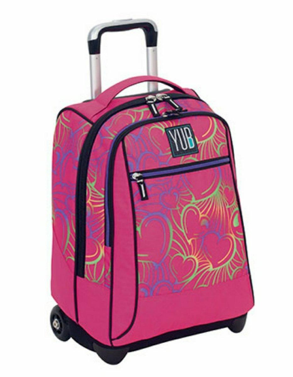 YUB Seven 2B3001819-379 - Mochila infantil Multicolor rosa