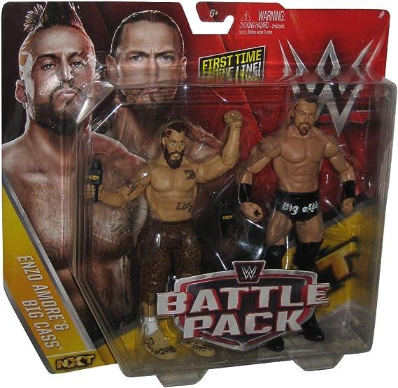 WWE Figura Pack de 2, Enzo Amore & Big Cass: Amazon.es: Juguetes y juegos