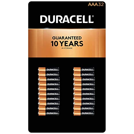 Amazon.com: aaa 32 Pack Duracell: Electronics
