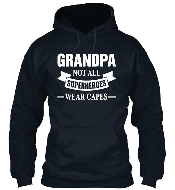 Sudadera con Capucha Teespring para Hombre - S - Grandpa Superheroes T Shirt: Amazon.es: Ropa y accesorios
