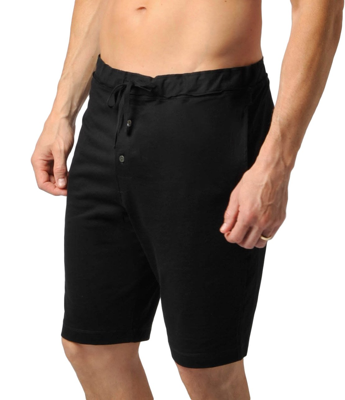 Naked Mens Pima Cotton Lounge Short Pajamas