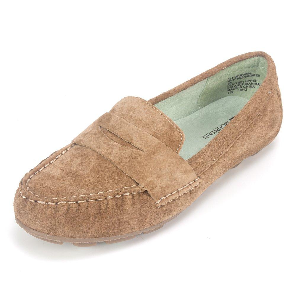 WHITE MOUNTAIN Women's Skipper Slip-On Loafer B008P6CIN8 8.5 B(M) US|Hazel