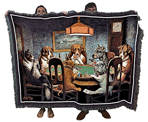 dogs playing cards picture - 8
